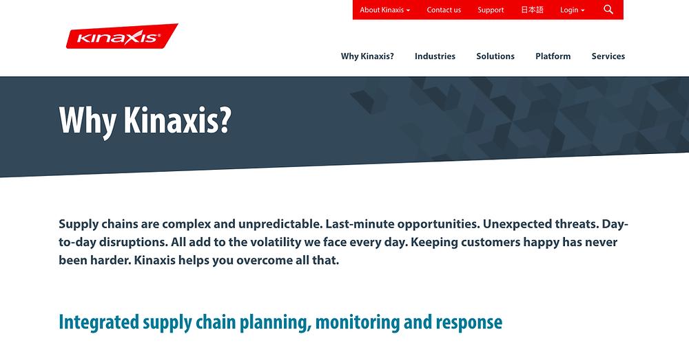 Kinaxis RapidResponse - Demand Planning Software