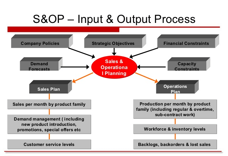 Sale and Operation Planning Process