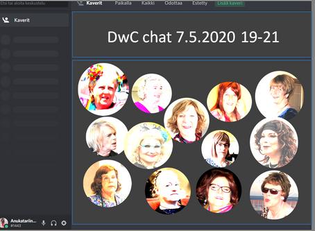 DwC-chatti torstaina 7.5.2020 klo 19-21