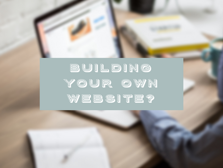 Why you should think carefully before building your own website.