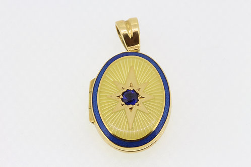 Deakin and Francis gold locket