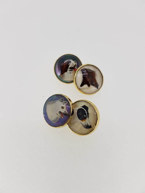 Essex crystal cufflinks
