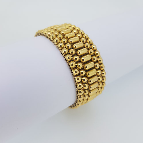 French 18ct gold bracelet.