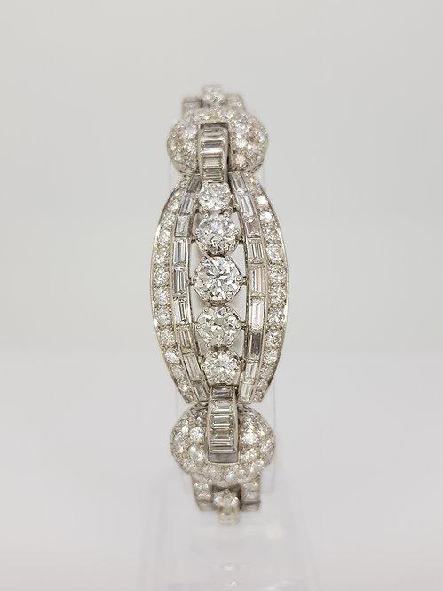 Vintage circa 1960 diamond bracelet.