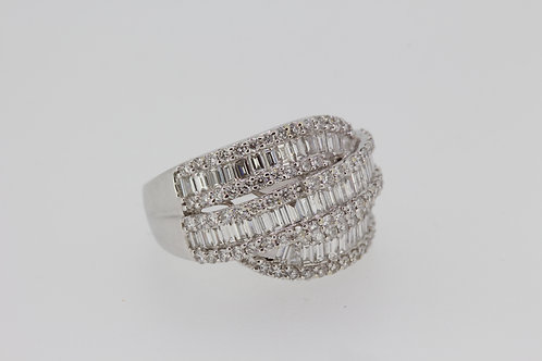 18ct est 2ct diamond ring