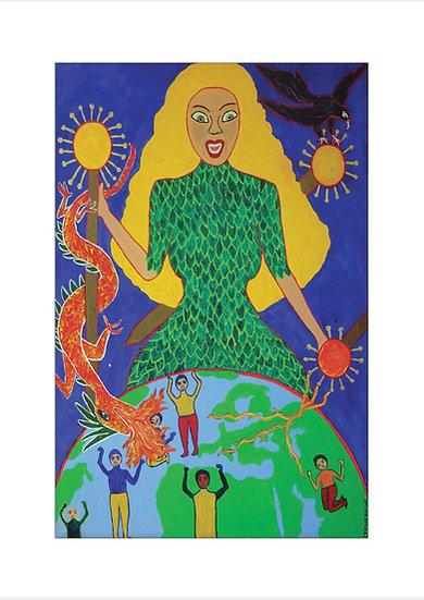 The Revenge of Pangaya - Acrylic on Canvas
