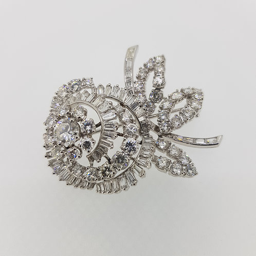 Diamond brooch circa 1960
