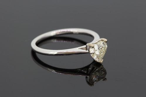 Heart shaped diamond est .70cts