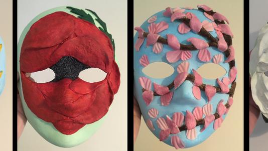 Amy Wood - Masks of Hope -  FINALIST