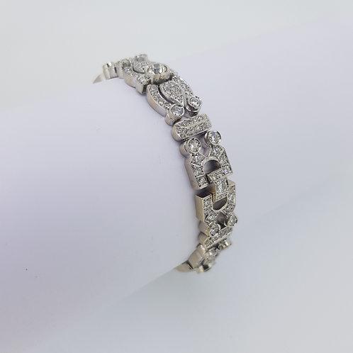Diamond bracelet est 12cts 42g