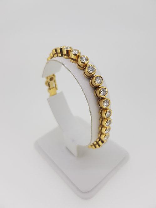 Diamond tennis bracelet est6cts