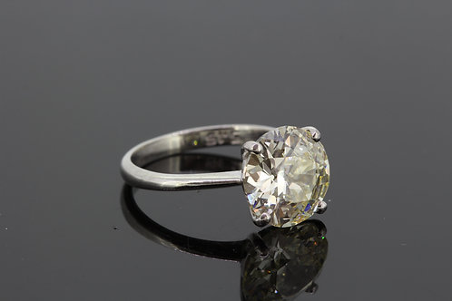5.08cts solitaire diamond ring