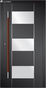 ALUPROF ENTRANCE DOOR WITH VST IN CANADA: YOUR DOOR AS A WELCOME HOME!