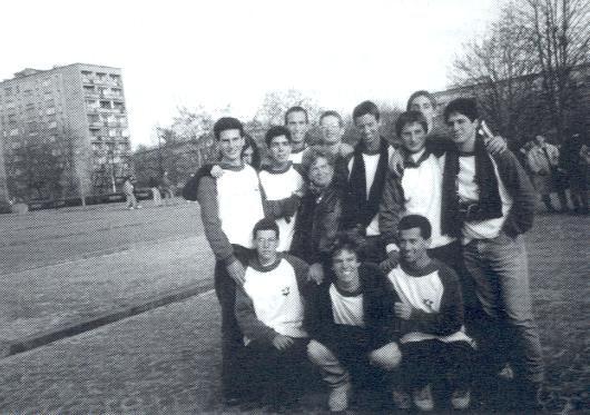 עם בני נוער בפולין
