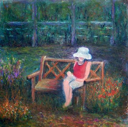 Artist in the Garden - Cantigny