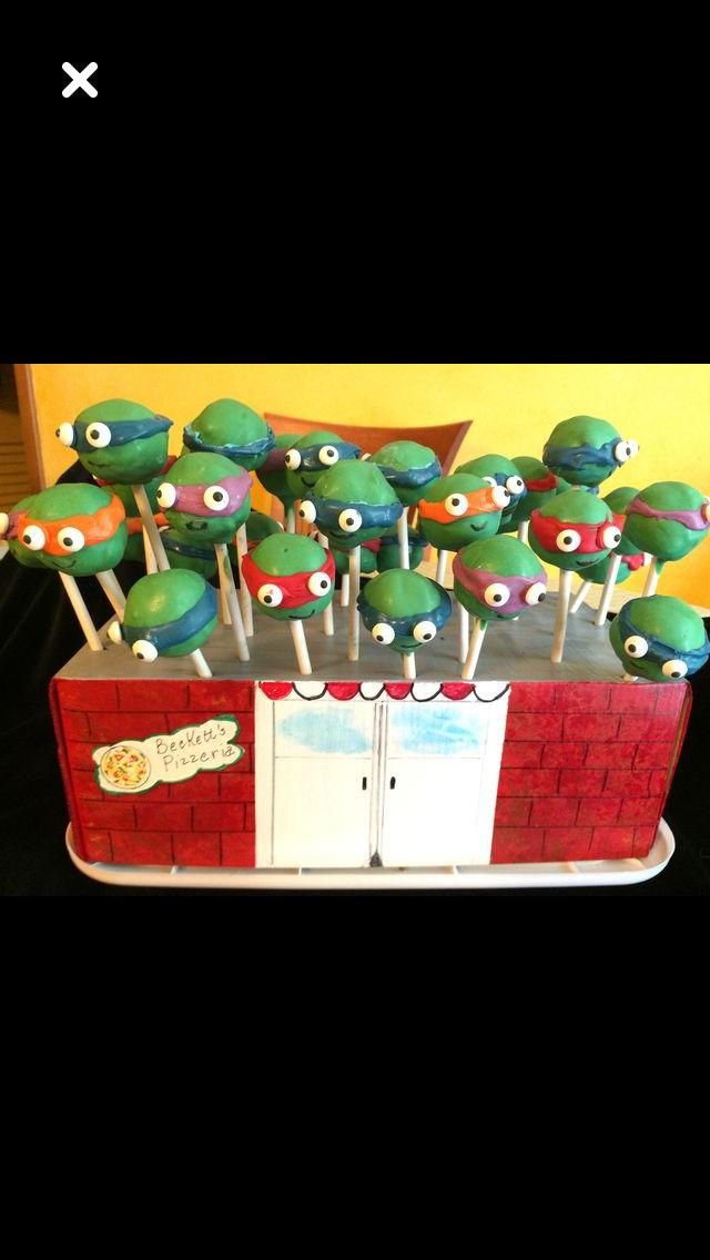 Ninja Turtle Pops