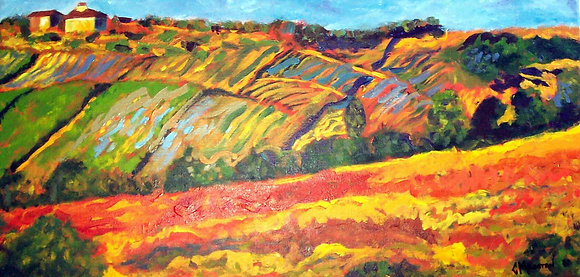 On the Road to Arezzo - SOLD
