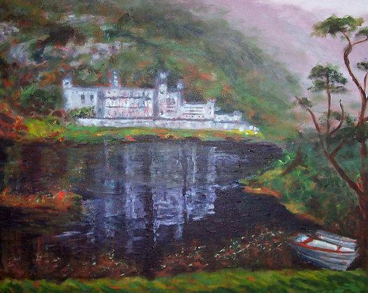 Kylemore Abbey,Ireland  SOLD