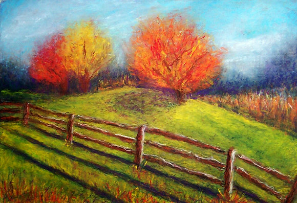 October in the Country - SOLD