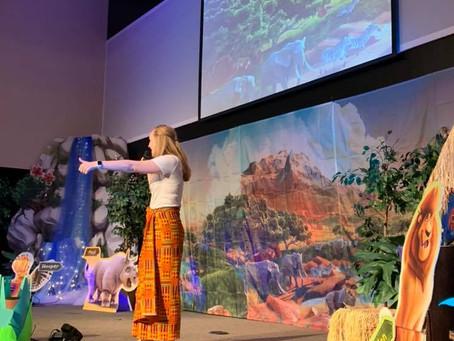 Kenya Katie Visits Vacation Bible School