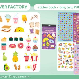 TCF - Sticker Book - Food Theme