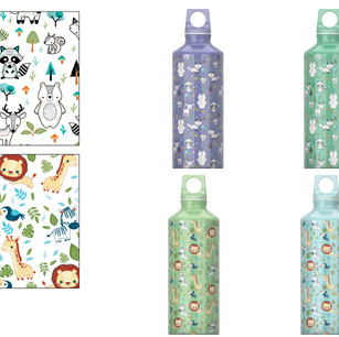 Safari and Forest Creatures Pattern