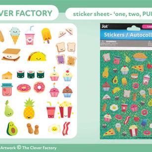 TCF - Sticker Sheet - Food Theme