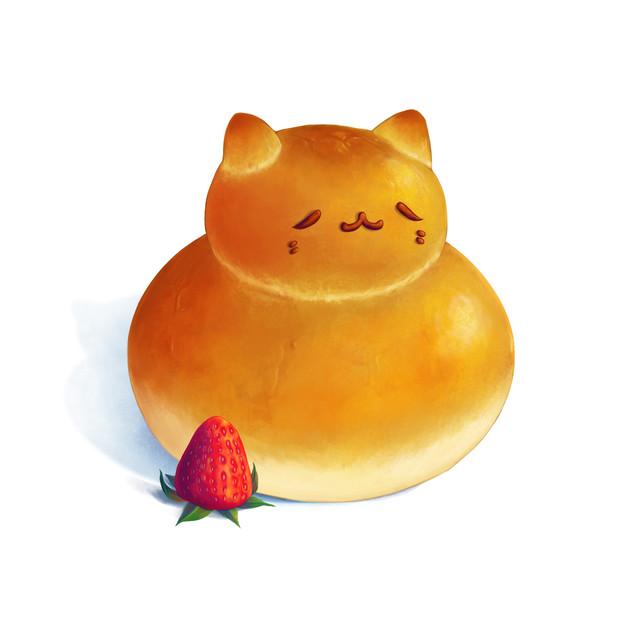 Cat Shaped Bread