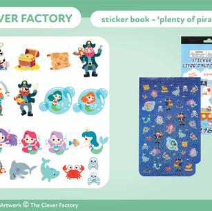 TCF - Sticker Book - Pirate Theme