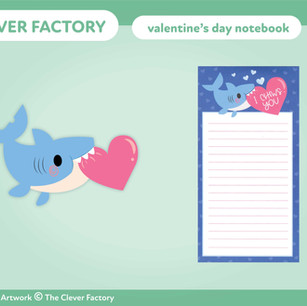 TCF - Notebook - Valentine's Day