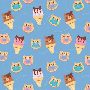 Cute Sweets Pattern