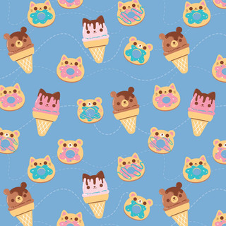Cute Sweets Pattern