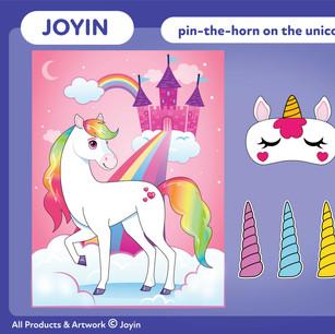 Joyin Pin-The-Horn on the Unicorn