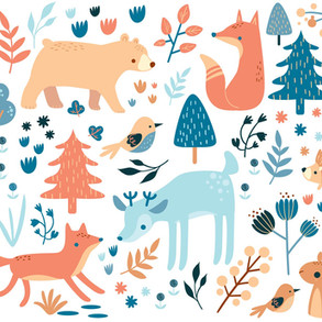 Soft Woodland