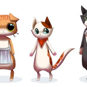 La Pawtisserie Cat Cast