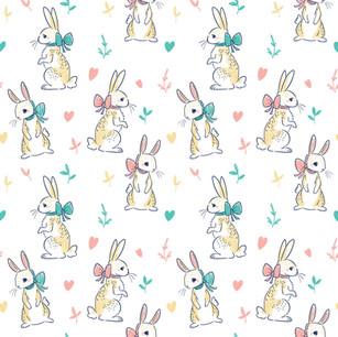 Delicate Rabbit Pattern