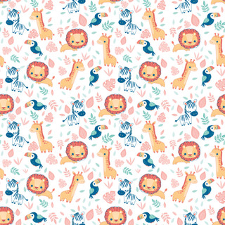 Soft Safari Pattern