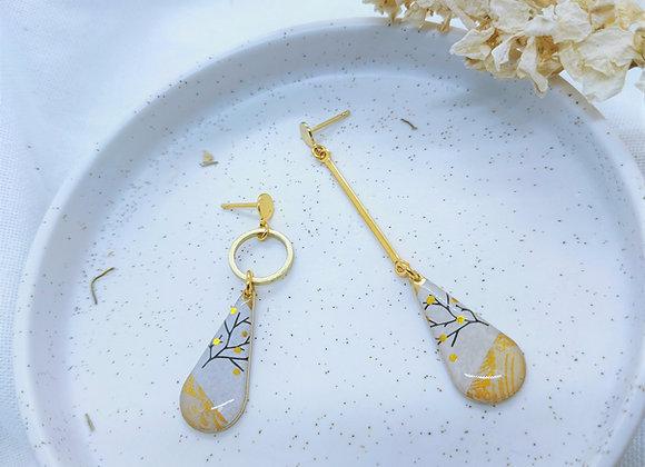 Collection Chiyo: Boucles d'oreilles