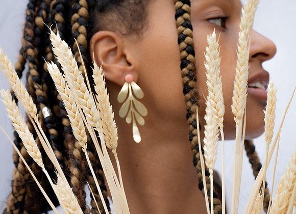 Kahina: Boucles d'oreilles