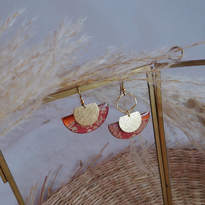 Collection Java: Boucles d'oreilles Laetitia