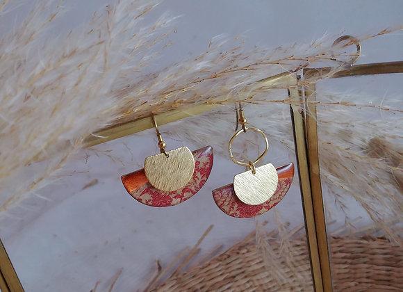 Collection Java: Boucles d'oreilles Laetitia