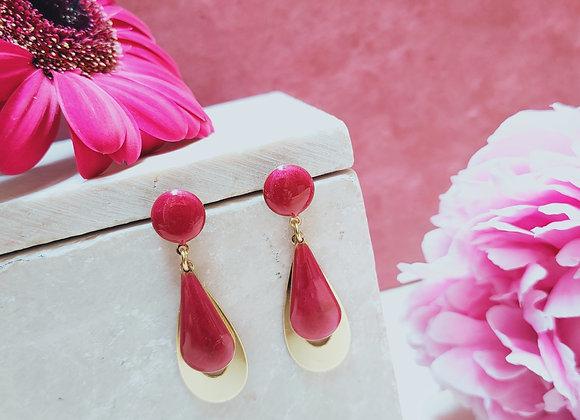 Hortense:  Boucles d'oreilles