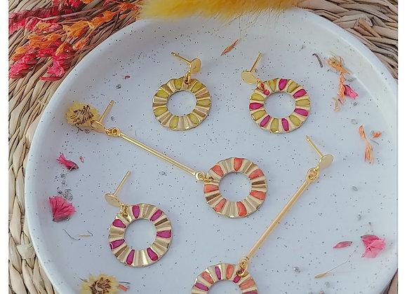 Collection Ada: Boucles d'oreilles