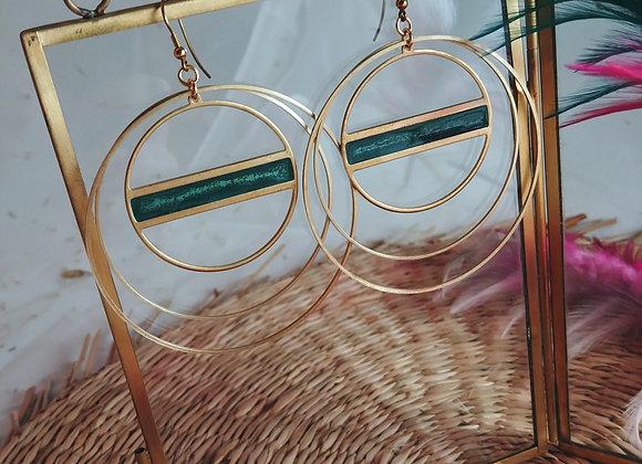 Collection Iris: Boucles d'oreilles Betty