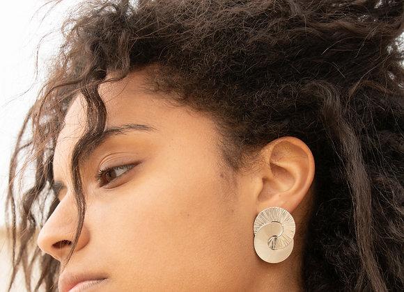 Edith: boucles d'oreilles (argent 925)