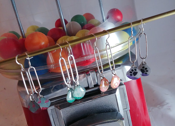 Collection Dora: Boucles d'oreilles Véra