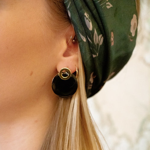 Collection Black: Boucles d'oreilles