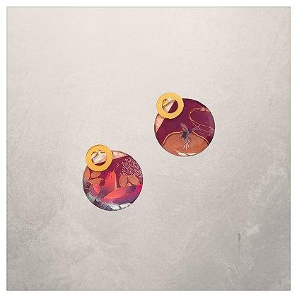 Collection Leïla: Boucles d'oreilles