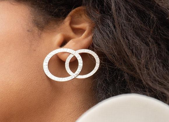 Tanna: boucles d'oreilles (argent 925)
