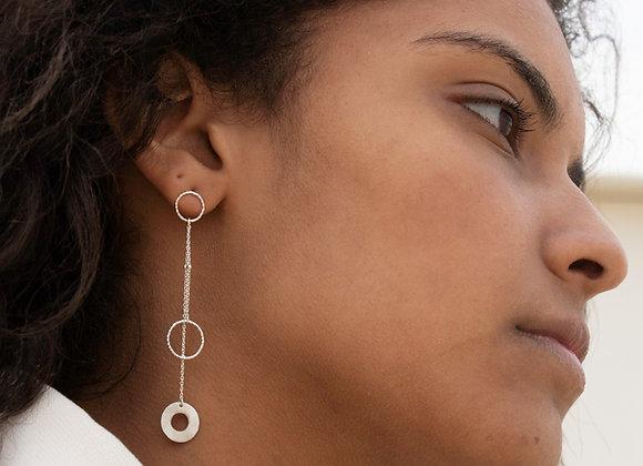 Maeva: boucles d'oreilles (argent 925)